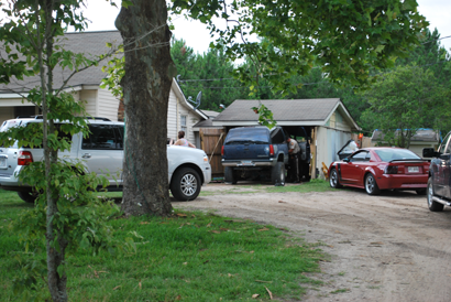 Worth County Sheriff's Office and Mid-South Drug Task Force execute a search warrant for a suspected meth lab