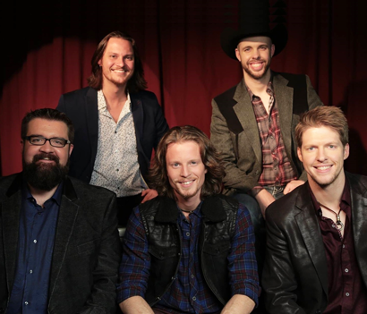 """Winners of NBC's The Sing-Off Season 4 """"Home Free"""" in Tifton on June 21 