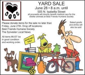 BFHS Yard Sale2