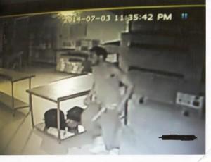 Pizza Quick Surveillance footage