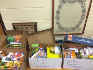 Wal-Mart Donates Much Needed Supplies