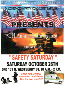 """City of Sylvester Fire Department Hosts 5th Annual """"Safety Saturday"""""""