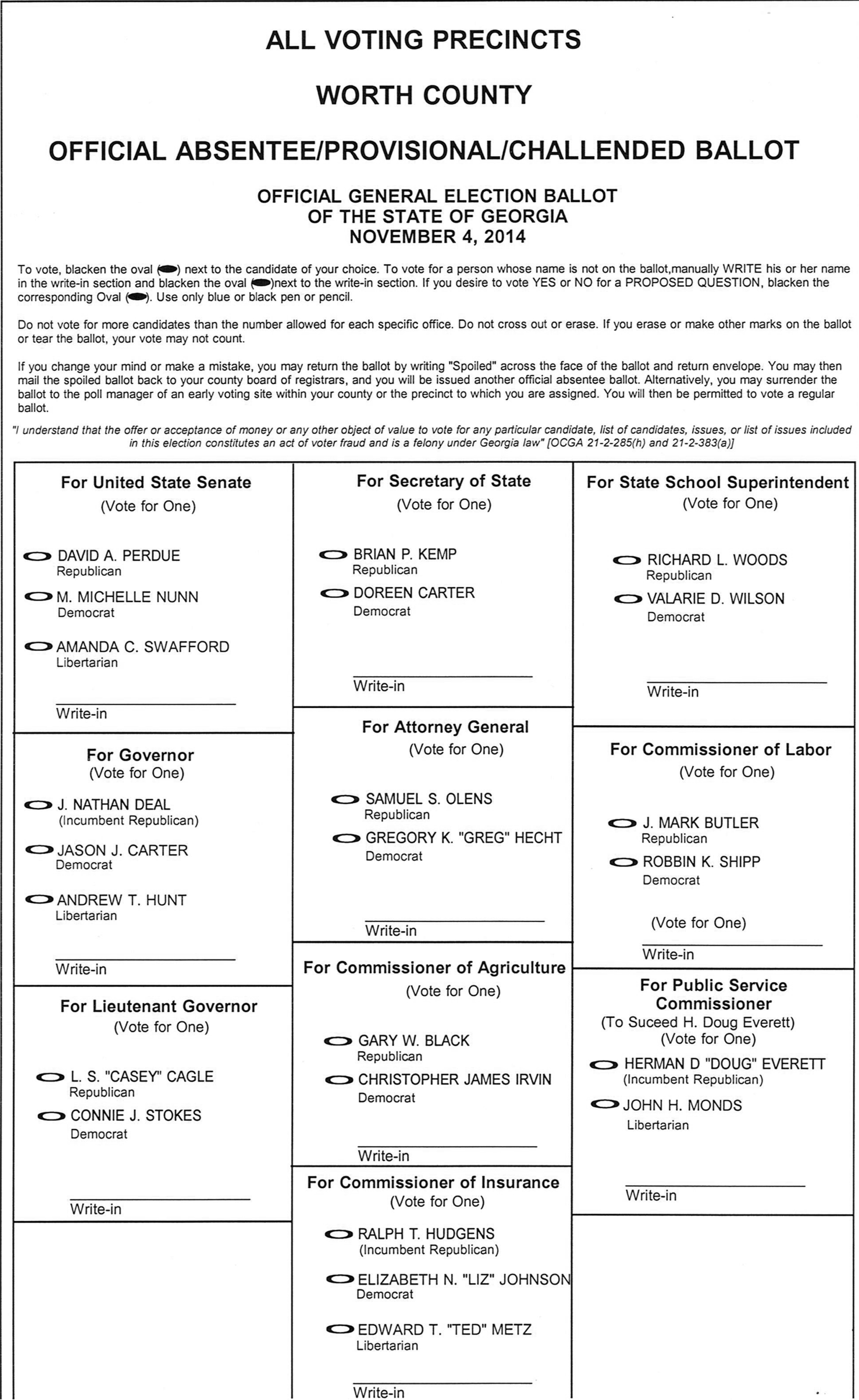 Important Information for Local Voters | The Sylvester Local