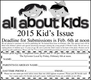 2015 Kids Issue Ad