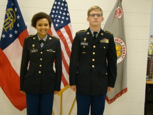 WCHS JROTC Cadets Promoted