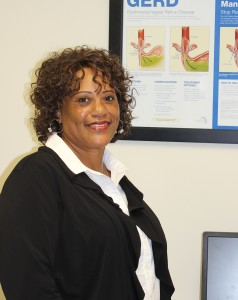 Delores Byrd of Tifton was the first LINX patient at Tift Regional Medical Center. The LINX system is a new method to treat acid reflex.