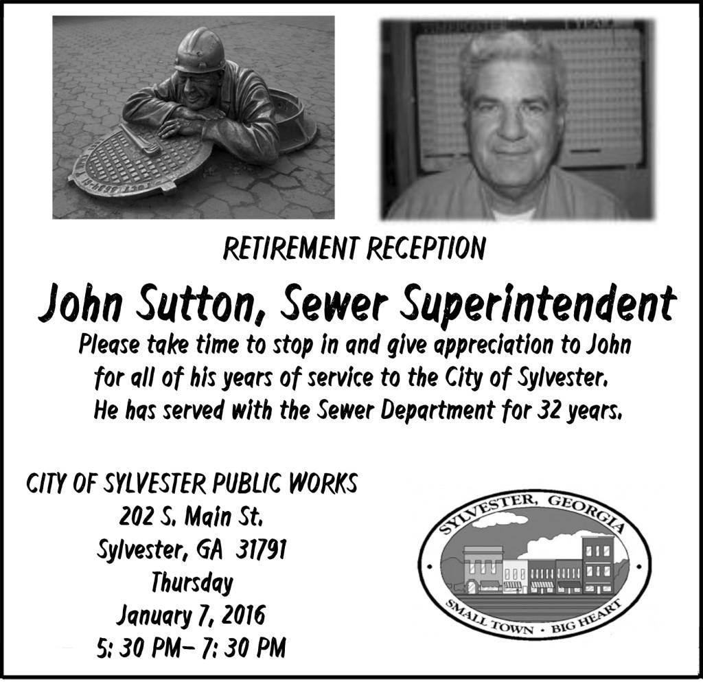 J Sutton Retirement