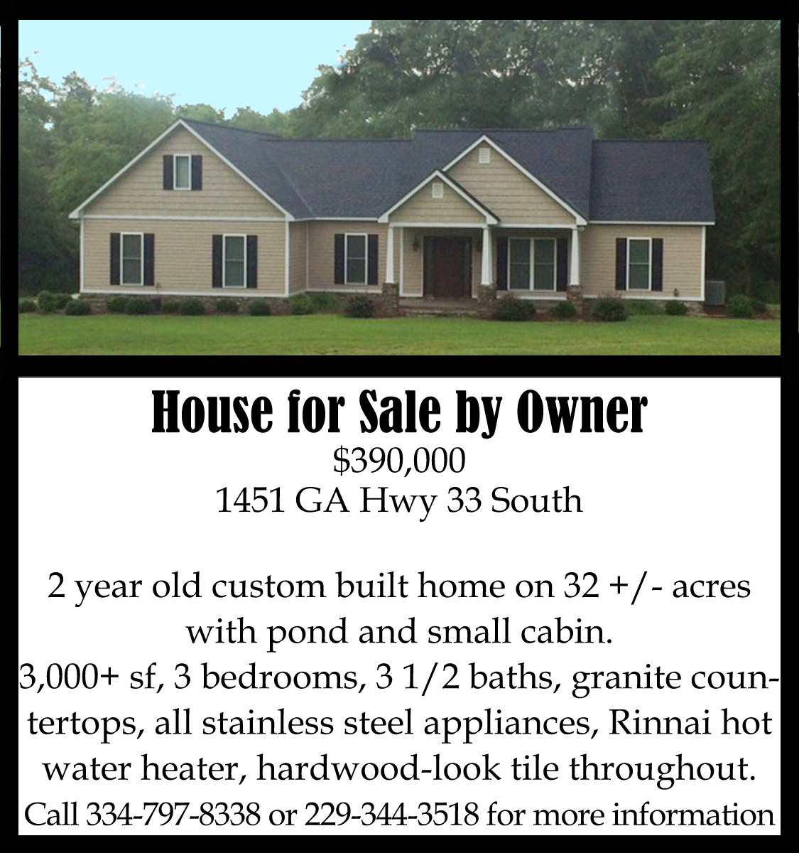 House for sale the sylvester local for Ad house