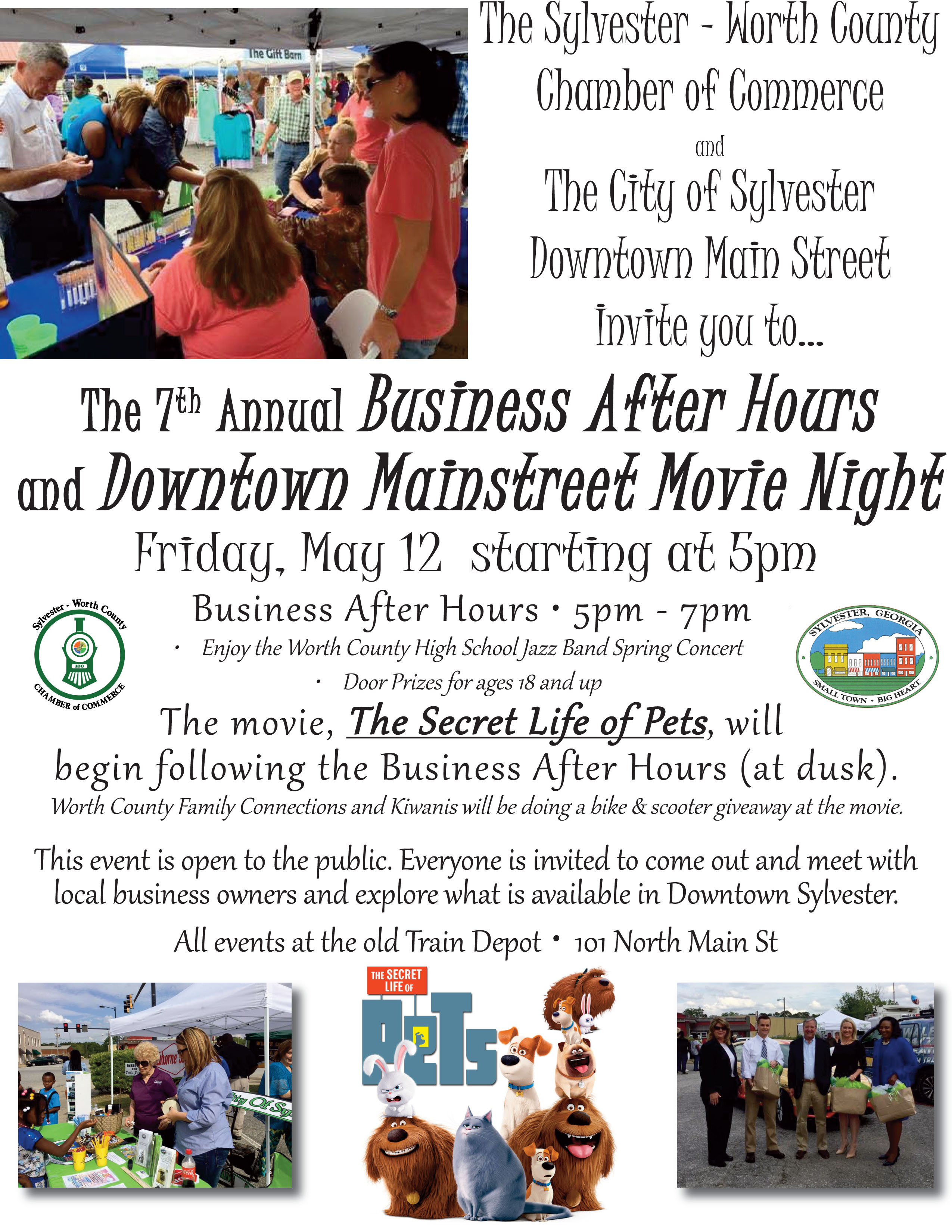 Business After Hours & Downtown Mainstreet Movie Night