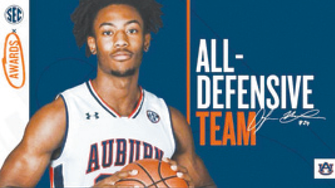 Worth's McLemore Named to SEC's All Defensive Team
